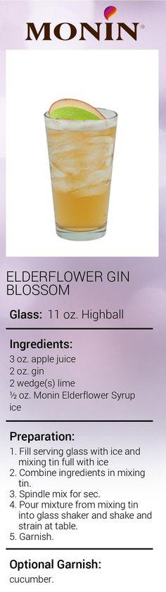 Elderflower Gin Blossom