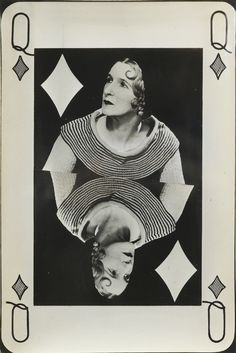 Man Ray - Valentine Hugo as Queen of Diamonds, 1935 Man Ray Photography, Conceptual Photography, Street Photography, Photography Tips, Landscape Photography, Portrait Photography, Nature Photography, Fashion Photography, Wedding Photography