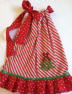 Christmas Dress Christmas Fashion For Little Girls, Fun for the seasons! http://www.etsy.com/shop/LolasMusicBox