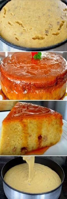 BUDIN DE PLATANO es una delicia, pronto lo hare pues a mi me encanta! #budin #platano #budines #flan #banana #postres #cheesecake #cakes #pan #panfrances #panettone #panes #pantone #pan #recetas #recipe #casero #torta #tartas #pastel #nestlecocina #bizcocho #bizcochuelo #tasty #cocina #chocolate Si te gusta dinos HOLA y dale a Me Gusta MIREN.. No Bake Desserts, Easy Desserts, Delicious Desserts, Yummy Food, Cuban Dishes, Venezuelan Food, Puerto Rico Food, Sweet Cooking, Colombian Food