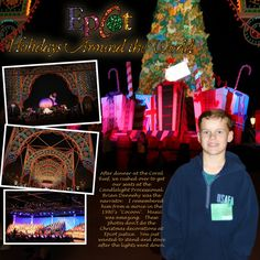 Christmas Decorations & Events at Epcot - Page 3 - MouseScrappers.com
