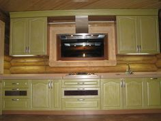 Кухня Country Kitchen Cabinets, Home Decor, Kitchen Cabinetry, Homemade Home Decor, Decoration Home, Kitchen Shelving Units, Dressers, Home Decoration, Kitchen Shelves