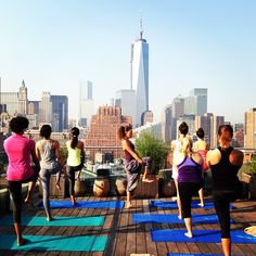 Co-Ed Rooftop Yoga @ The James