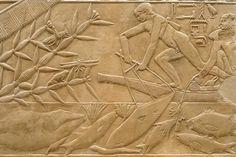 Sakkara, Tomb of Kagemni, Ancient Egypt, 6th Dynasty.