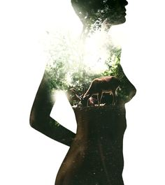 Double Exposure Photography by André Varela #inspiration #photography