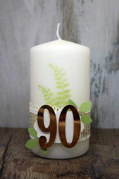 Opa Hat Geburtstag Kerze Und Willkommensgruß Geschenke Verpacken
