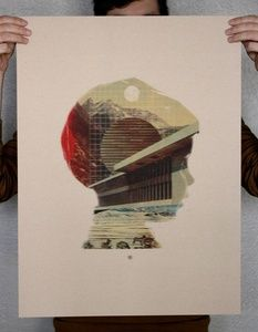 Mark Weaver — Self Portrait Screen Print