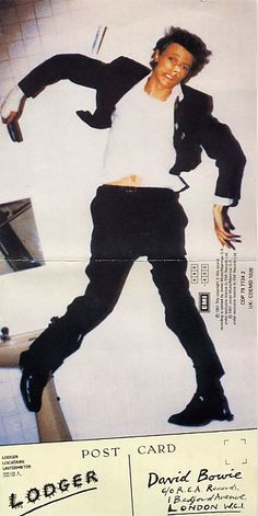David Bowie, Lodger (1979). My first Bowie lp and I still have it.