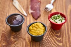 a mustard sauce along with other two sauces. This is how you make teppanyaki mustard sauce Subway Southwest Sauce, Ketchup, Sauce Au Curry, Salsa Dulce, Mayonnaise Recipe, Deli Food, Teppanyaki, Low Carb Sauces, Healthy Detox