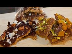 Saltine Bark with Assorted Toppings - Gluten Free Recipe - Cooking with ... on YouTube :)