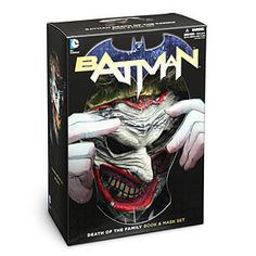 Batman Death of the Family Book and Mask Set