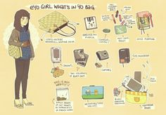 eyo girl what's in yo bag by ~021 on deviantART