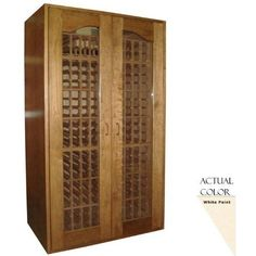 Vinotemp Vino-sonoma410-w Sonoma 410 Bottle Wine Cellar - Glass Door / White Cabinet by Vinotemp. $5279.00. Vinotemp VINO-SONOMA410-W Sonoma 410 Bottle Wine Cellar - Glass Door / White Cabinet. VINO-SONOMA410-W. Wine Cellars. Premium wood and contemporary styling evoke a timeless appearance for our Sonoma Series Wine Cellars. With a storage capacity of up to 410 bottles, this model features all-wood Redwood racking. Arched windows on the double-paned glass doors allows f...