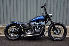 Custom Harley Davidson Street Bob - The Fantastic Mr Fox gallery including pictures, technical specifications and press features. Harley Dyna, Harley Bobber, Harley Davidson Chopper, Harley Bikes, Harley Davidson Street, Harley Davidson Motorcycles, Harley Softail, V9 Bobber, Bobber Bikes