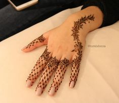 "4,177 Likes, 63 Comments - Arabian Henna (حنا) (@henna_nurahshenna) on Instagram: ""Nurahshenna"""