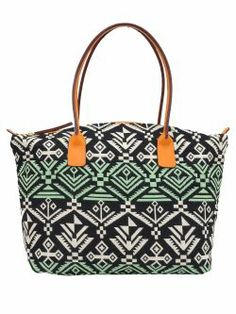 Geanta din material textil cu imprimeu Inca New spring summer collection handbag