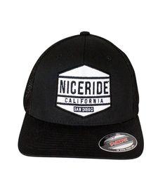 6511 Meshback Flexfit Hat with NICERIDE s