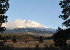 This photo from California, West is titled 'Mt. California Usa, Northern California, Mount Shasta, Going Home, Places Ive Been, North America, United States, Earth, Mountains
