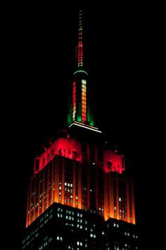 i-rena: To celebrate Thanksgiving, the Empire State Buildi...
