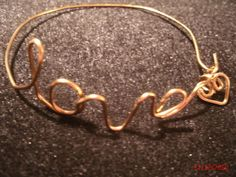 The Beading Gem's Journal: Wire Name Writing Pendant How-to Tips