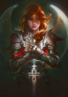 """cyrail: """" St Joan by unrealsmoker Featured on Cyrail: Inspiring artworks that make your day better """""""