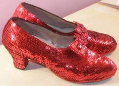 Ruby Slippers are these the shoes from wizard of oz?