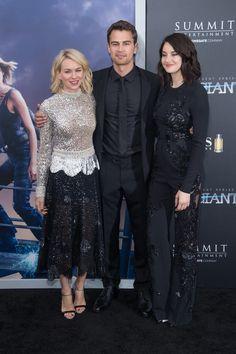 Le Cast d'Allegiant se Retrouve à New York Pour l'Avant Première du Film