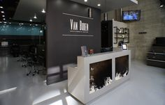 hair salon reception area | Van Buren Gentlemen's Salon