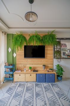 How are you spending your Saturday In front of the TV! Any plant lovers out there Couch potatoes Who uses Saturdays to catch up on their shows House Design, Decor, Interior Design, Living Room Decor, House, Home, Living Room Diy, Home Office Design, Commercial And Office Architecture