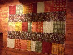 5 & Dime - aboriginal focus fabric and Marcia Derse fabric - #1