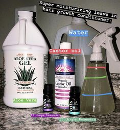 Super Moisturizing Leave In Hair Growth Conditioner - Grow hair - Curly Hair Care, Curly Hair Styles, Curly Hair Growth, Diy Hair Growth Oil, Curly Hair Tips, 4c Hair, Hair Dye, Do It Yourself Organization, Natural Hair Care Tips