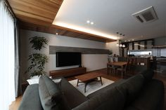 Muji, Flat Screen, Interior, Modern, House, Blood Plasma, Trendy Tree, Indoor, Home