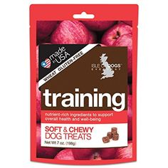 Isle of Dogs Training Dog Treats, 7 oz. ~ Please be sure to check out this awesome product. (This is an affiliate link and I receive a commission for the sales)