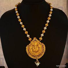Laxmi necklace - 224(temple jewellery)