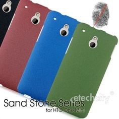 Sand Stone Series Anti-Fingerprint PC Case for #HTC One Mini #M4 [PCAF-HTNEMN4] - $15.00