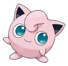 OMG such cute eyes..can only be of jiggly puff