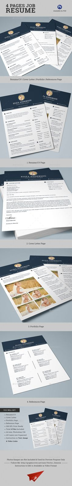 47 best Resume images on Pinterest Resume design, Resume templates
