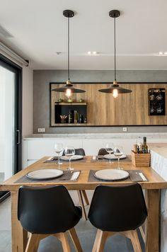 La cocina como centro de reunión y espacio de socialización. Disfrutar de grandes comidas y cenas con la familia y amigos/as.