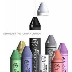Vi minnes tilbake til barndommen med disse stilige Crayon lampene fra Dyberg Larsen. Designet med inspirasjon fra de tradisjonelle teinestiftene. Fås i 4 forskjellige størrelser. #dyberglarsen #nyheter #Crayon #lightupno