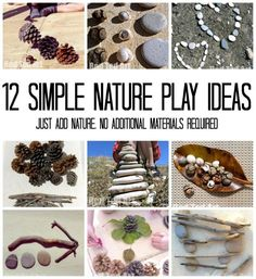 12 Nature Play Ideas