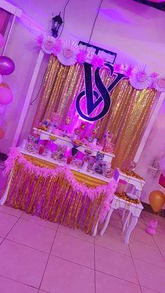 Victoria Secret Party, Tablescapes, Birthday Candles, Shots Ideas, Table Scapes, Table Arrangements