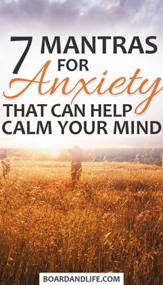 Dealing with anxiety can be difficult but there are things that can help. - Dealing with anxiety can be difficult but there are things that can help. Here are 7 mantras for an - Anxiety Tips, Deal With Anxiety, Anxiety Relief, Stress Relief, Anxiety Facts, Buddhism, Deep, Spirituality, Thoughts