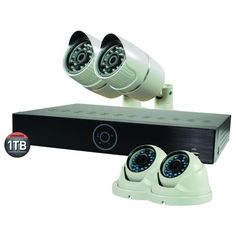 """Sale"" Revo Genesis HD 4 Channel NVR Surveillance System with 4 Security Cameras #RevoAmerica"