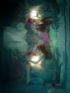 UnderWater 水中ポートレート 水中写真 okogeさん オリジナル マジシャン