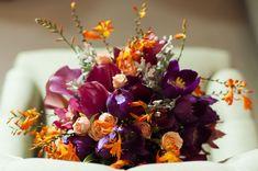 Buquê / Bouquet / Buquê rosa e laranja moderno.  Buquê: Taís Puntel  Foto: Giselly Gonçalves