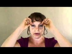 Eye massage for relaxation and vision improvement