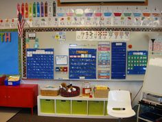I want the bin shelf in front of this board!  It could also go in front of my smartboard and double as a step stool!