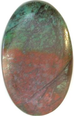 RARE Sonora Sunset (Chrysocolla Cuprite) BIG 30x49mm Oval Cabochon
