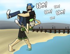 Merkimoo doesn't like ocean that much...