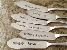 Repurposed Silverware  |  Jama's Alphabet Soup